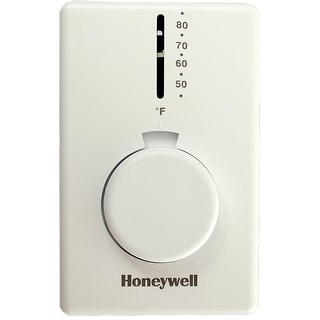 Honeywell T4398A1021 Honeywell Thermostat - White