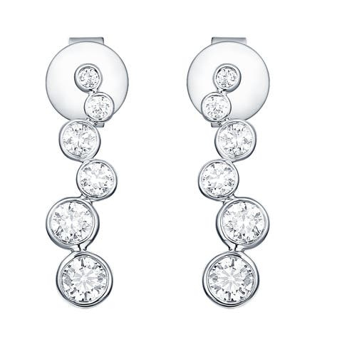 Smiling Rocks Bubbly Collection 0.51Ct G-H/VS1 Lab Grown Diamond Earring