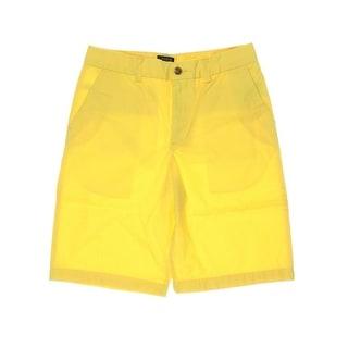 Polo Ralph Lauren Boys Poplin Flat Front Bermuda Shorts - 10