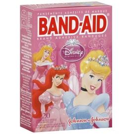 BAND-AID Children's Adhesive Bandages, Disney Princess, Assorted Sizes 20 ea