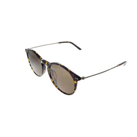 Giorgio Armani AR 8121F 502673 51mm Unisex Tortoise Frame Brown Lens Sunglasses