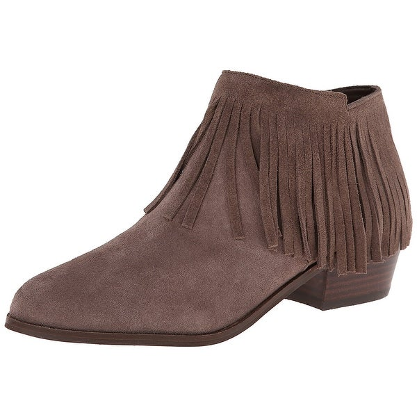 Steve Madden Women's Patzee Fringed Ankle Booties