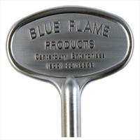 "Blue Flame BF.KY.06 Gas Valve Key, 3"", Satin Chrome"