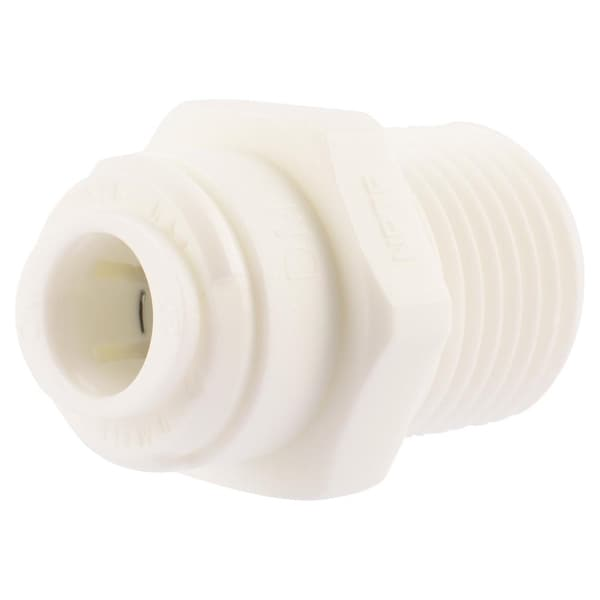 Sharkbite 25418 Push to Connect Threaded Adapter, 3/8 X 1/2