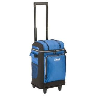 Coleman 42 Can Soft Cooler - Blue 42 Can Soft Cooler with Liner - Blue