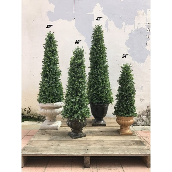 Decorative Boxwood Topiary. Opens flyout.