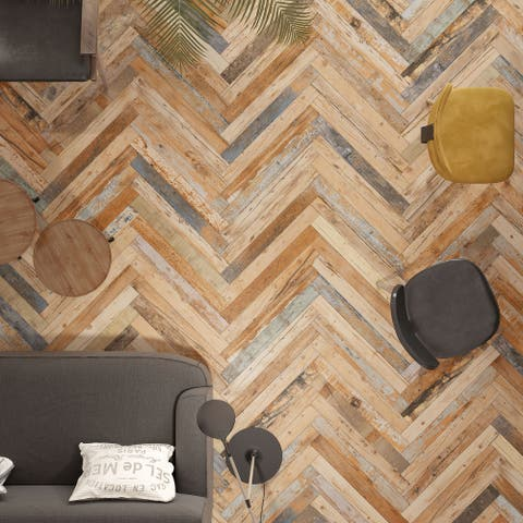 """SomerTile Melvin Color 2.86"""" x 26.5"""" Porcelain Floor and Wall Tile"""