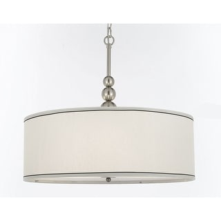 Stewart 3 Light Chandelier With Drum Shade