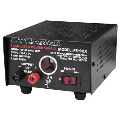 5 Amp Power Supply w/Cigarette Lighter Plug