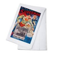 Superman USA c. 1948 - Vintage Advertisement (100% Cotton Towel Absorbent)