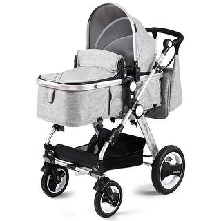 Costway Folding Aluminum Infant Baby Stroller Kids Carriage Pushchair