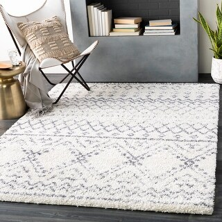Link to Rayne Boho Moroccan Shag Area Rug Similar Items in Shag Rugs