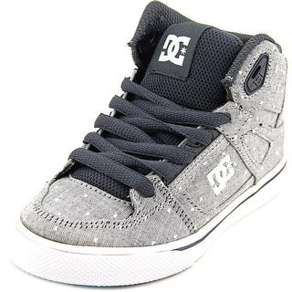 DC Shoes Spartan High Tx Se Round Toe Canvas Sneakers