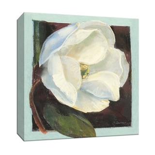 "PTM Images 9-153336  PTM Canvas Collection 12"" x 12"" - ""Magnolia I"" Giclee Flowers Art Print on Canvas"