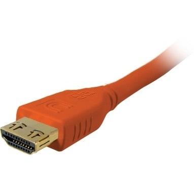 """Comprehensive MHD-MHD-9PROORG Comprehensive MicroFlex Pro AV/IT Series High Speed HDMI Cable with ProGrip Deep Orange - HDMI"