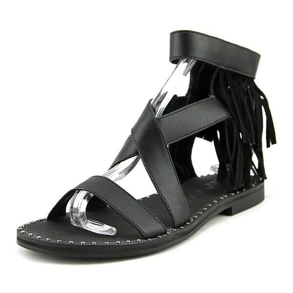 Sixtyseven 77863 Women Black Sandals