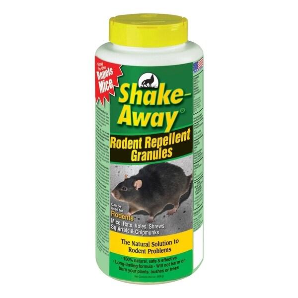 Shake-Away 2853338 Rodent Repellent Granules, 28.5 Oz
