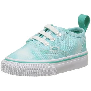 Vans Kids Authentic V Lace - tie dye turquoise - 8 toddler m