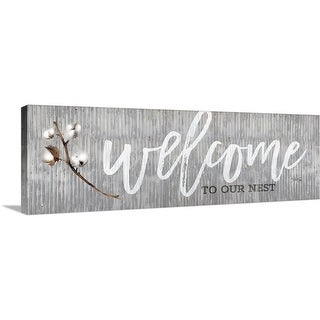 """""""Welcome To Our Nest"""" Canvas Wall Art"""
