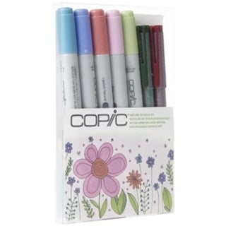 Copic DKNAT Natural Doodle Kit