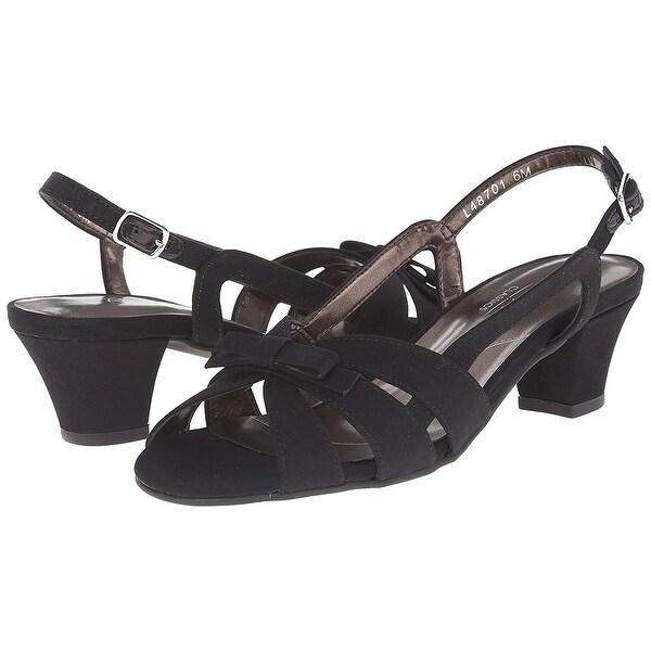 Rose Petals NEW Black Women's Shoes Size 5M Lela Slingbacks