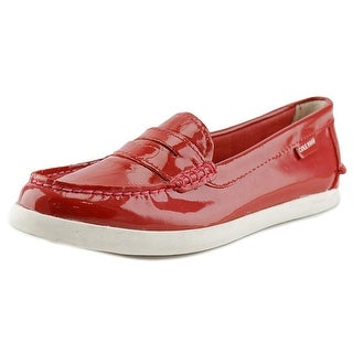Cole Haan Pinch Weekender Round Toe Patent Leather Loafer