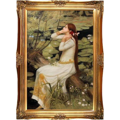 John William Waterhouse 'Ophelia' Hand Painted Oil Reproduction