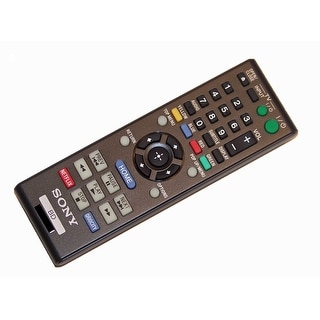 OEM Sony Remote Control Originally Shipped With: RMTB116A or RMT-B116A