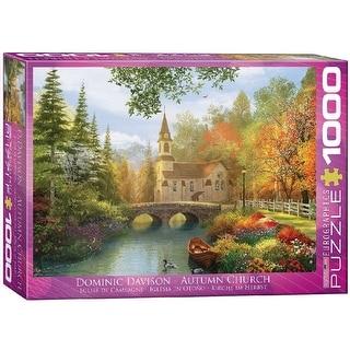 Autumn Church By Dominic Davison 1000 Piece Puzzle