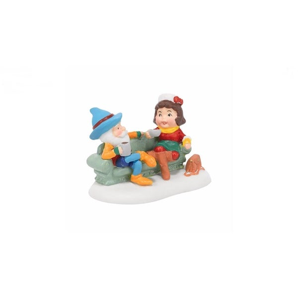 """Department 56 North Pole Series """"Java Brew for Two"""" Accessory #4036553 - BLue"""