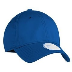 New Era Unstructured Stretch Cotton Cap, Royal, M/L