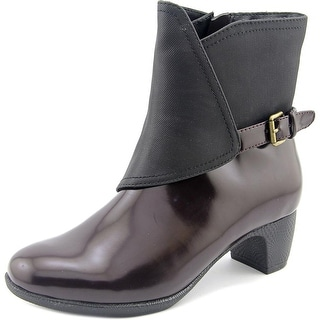 Softwalk Puddles Boot Round Toe Synthetic Boot
