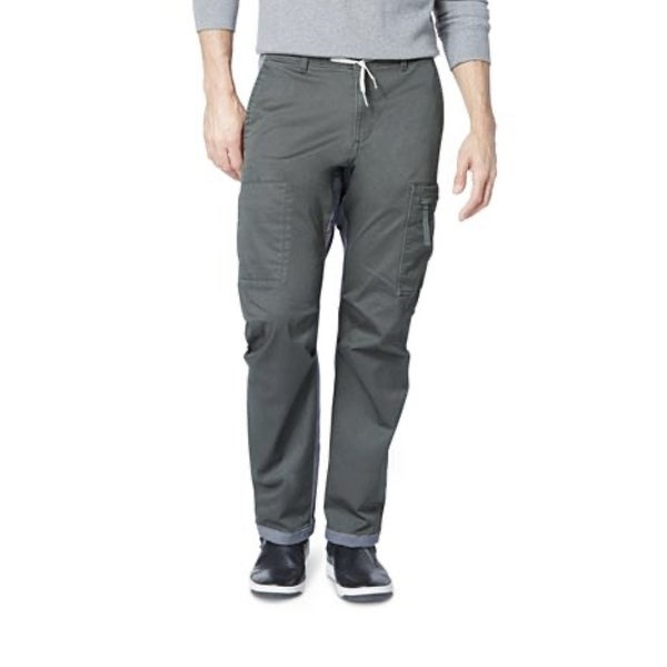 Dockers Men's Straight-Fit Stretch Urban Twill Cargo Pants Gray Size 36x29. Opens flyout.