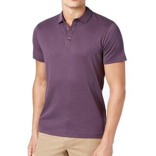 Michael Kors NEW Fig Purple Mens Size 2XL Polo Short-Sleeve Shirt