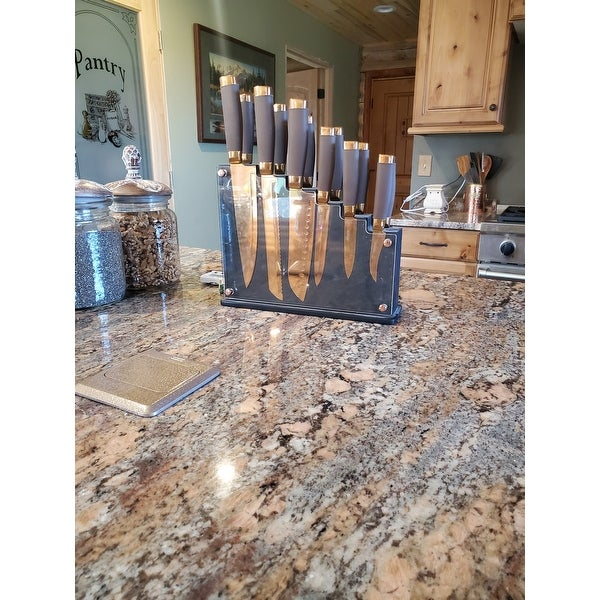 Top Product Reviews For Hampton Forge Skandia Forte 13 Piece Knife Block Set 19681308 Overstock