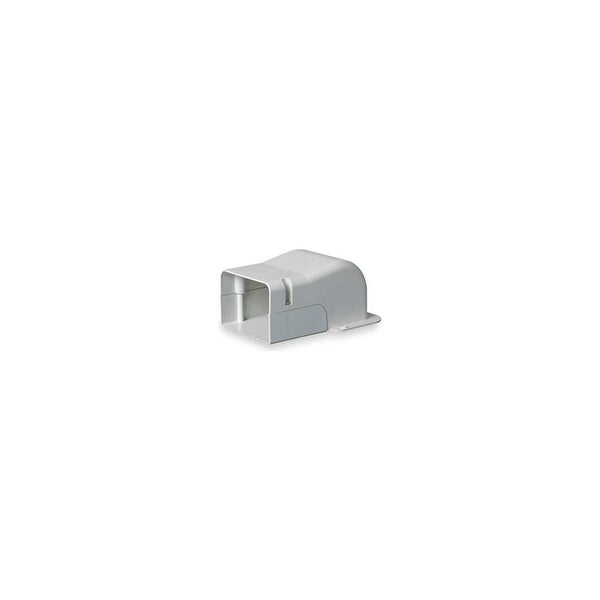 "DiversiTech 230-WC4 4"" SpeediChannel Wall Penetration for Air Conditioning Line Set Cover System - Natural"