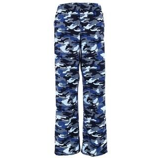 Boxercraft Boy's Camouflage Flannel Pants