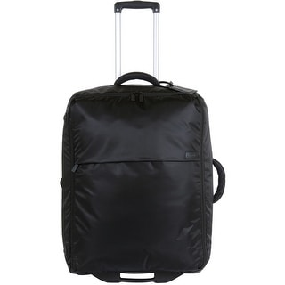 Lipault Luggage 0% Pliable 20-Inch Upright, Black