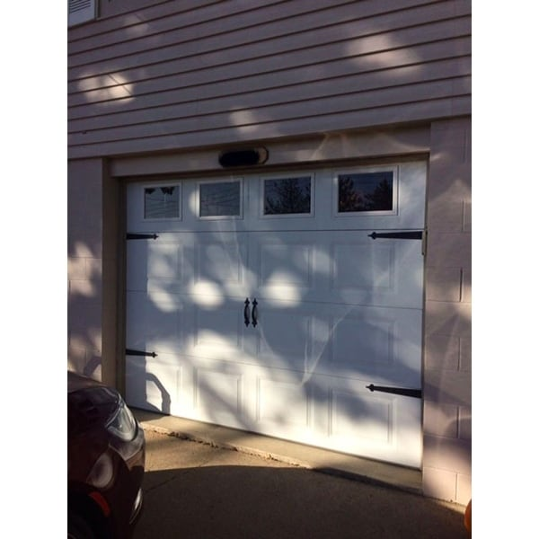 Hinge-It Magnetic Black Decorative Garage Door Accents - Free Shipping On Orders Over $45 - Overstock.com - 20932085  sc 1 st  Overstock & Hinge-It Magnetic Black Decorative Garage Door Accents - Free ... pezcame.com