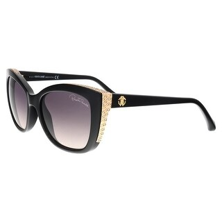 Roberto Cavalli RC888S 01B Mekbuda Black Cat Eye sunglasses - 54-17-135