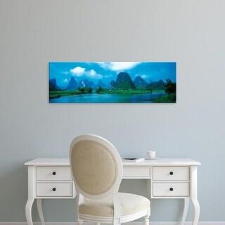 Easy Art Prints Panoramic Images's 'Guilin China' Premium Canvas Art
