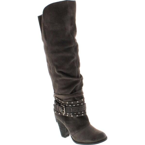Naughty Monkey Womens Buck Wild Fashion Slouch Boot
