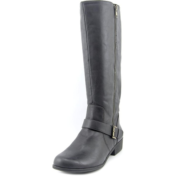 Naturalizer Veracruz Round Toe Synthetic Knee High Boot