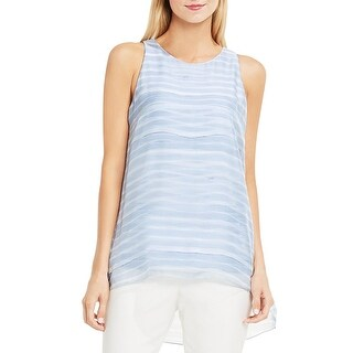 Vince Camuto Womens Tank Top Printed Hi-Low (5 options available)