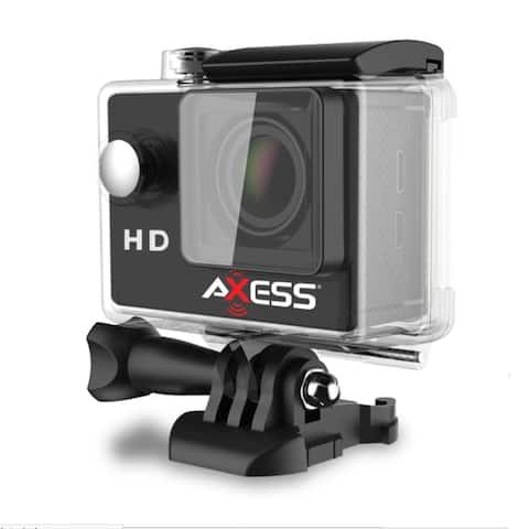 Axess HD 720p Waterproof Action Camera-Black