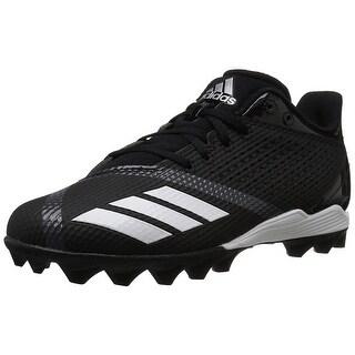 Adidas Unisex 5-Star Md J Football Shoe, Kids, Black/White/Night Metallic