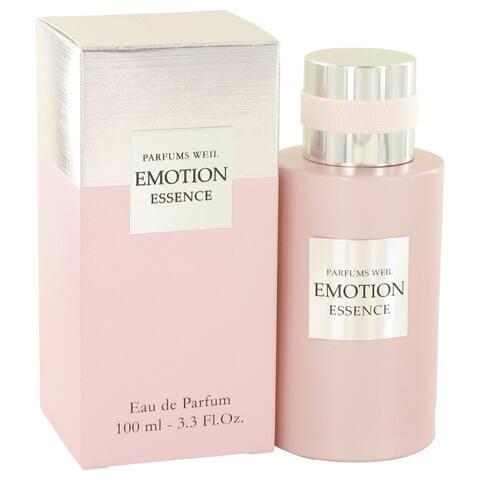 Emotion Essence by Weil Eau De Parfum Spray 3.3 oz