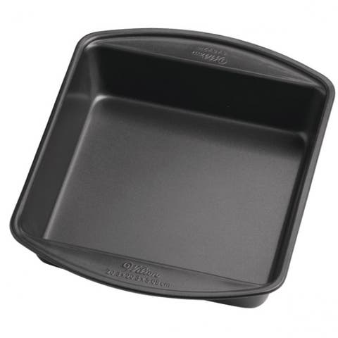 Wilton 2105-6061 Perfect Results Square Cake Pan, 8""