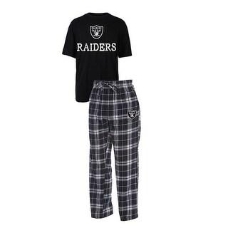 Oakland Raiders Duo Men's Sleep Set, Large