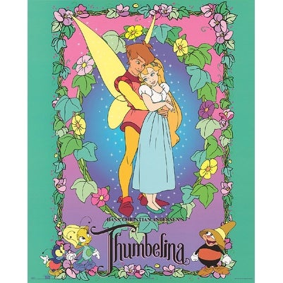 ''Thumbelina'' by Walt Disney Animation Art Print (20 x 16 in )